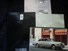 4 original Rolls-Royce / Bentley catalogues and photo - 1970-1990er years