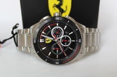 Ferrari Scuderia Gran Premio – men's chronograph watch – mint condition