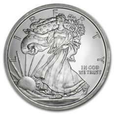 United States - Medal 'Walking Liberty' - 5 oz silver