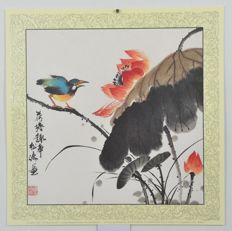 Six artprints from painting of Songtao Gao  - China - late 20th century