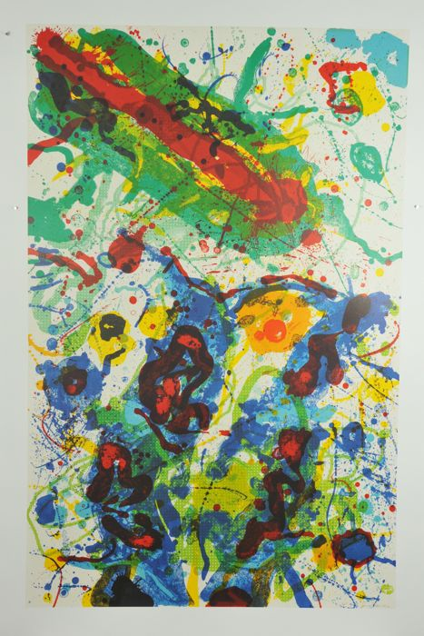 Sam Francis - Untitled (silkscreen) - 2009