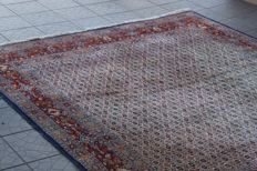 Beautiful persian Iran Moud hand knotted 260 x 208 cm high Quality natural wool