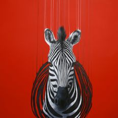 Louise McNaught - Fragmented Freedom / Red Zebra