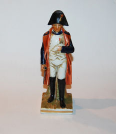 Napoleon statuette in porcelain, Empire 1815