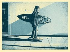 Shepard Fairey (OBEY) - Jeff Ho Zephy (Blue)