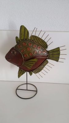 Decorative standing Fish