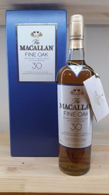 Macallan 30 years old fine oak - OB