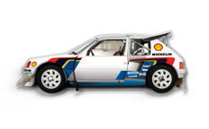 Halmo Collection Peugeot 205 T16  Plexiglass Model