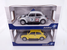 Solido - Scale 1/18 - Lot with 2 models: VW Beetle 1303 Rally Acropolis and VW Beetle GSR