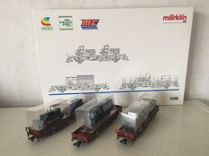"Märklin H0 - 4508 - 3-piece carriage set ""Technische Hilfswerk"""