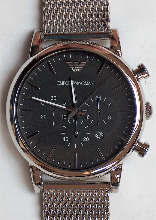 united states quality design genuine shoes Emporio Armani 1808 - Chronograph - Catawiki