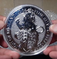 Great Britain - 10 pounds - 2017 - 10 oz silver