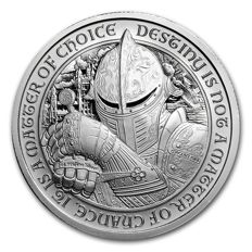 USA - 2 oz silver round - Destiny Knight - the Raven (Scottish Knight) 999 Silver Edition only 10,000 pieces
