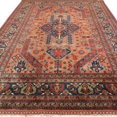 Afghan – 205 x 151 cm – eye-catcher – Persian carpet in beautiful condition.