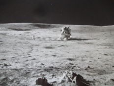 Apollo - 14: Antares landed on the Moon