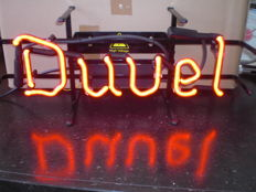 DUVEL Neon light advertising