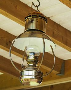 Trawler ship's lamp - DHR Den Haan Rotterdam Holland - Ideal Brenner