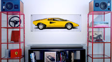 Halmo Collection Lamborghini Countach Periscopio print