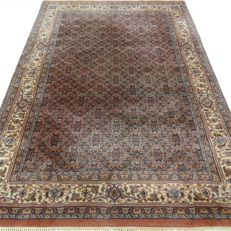 "Indo Bidjar Herati - 251 x 168 cm - ""Modern oriental rug in beautiful condition"""