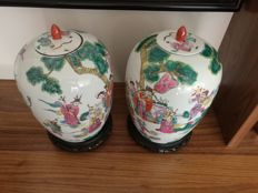 Pair of water pots - China - around 1980