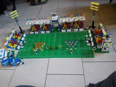 Lego football stadium including sets, incl. 3302 - 3303 + all other boxes