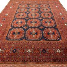 """Afghan - 203 x 155 cm - """"Persian carpet in clean and beautiful condition"""""""