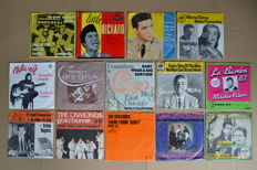 14 rock/pop singles from American 60's bands & singers