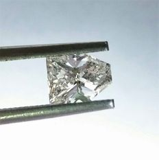 Kite Cut  1.02 ct - D Color - VS1 Clarity -  Loose Diamond  - IGL certified - Laser inscription -Original Image