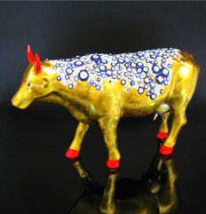 CowParade - Cow The Evil Eye Large - Berrin Bul