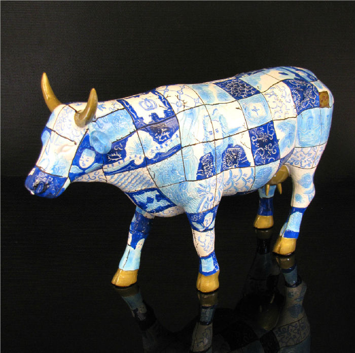 CowParade - Cow Ora Poix Large - Retired
