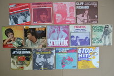 Beat/pop - 9 singles & 3 EP's plus 1 Promo from 60's U.K. bands & singers