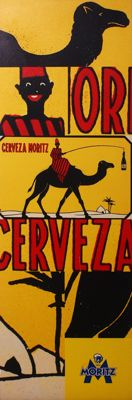 Advertising Sign – Cerveza Moritz – circa 2005