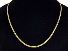 18k Gold Necklace. Chain  - 45 cm. No reserve price.