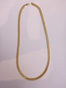 14 kt gold necklace - 45 cm - 9.3 grams