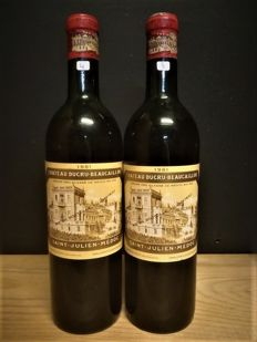 1961 Chateau Ducru-Beaucaillou, Saint-Julien – 2 bottle (75 cl) – 96 Robert Parker