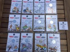 "France - 12 x 10-Euro ""Asterix Series"" and 1 x 50-Euro - Money"