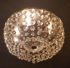 Swarovski Crystal ceiling lamp from the 1960s.
