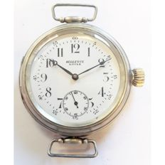 Bellevue, rare marriage wristwatch, Switzerland, 1900s