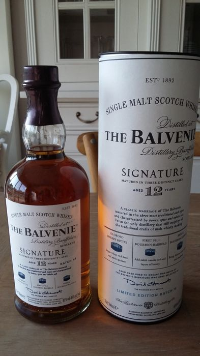 Balvenie signature 12 years old