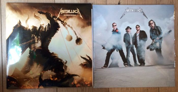 Set of 2 Metallica Rarities || 2 LP's || Coloured/Picture Disk || Mint in sealing