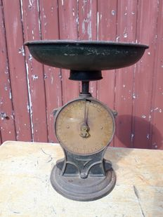 Antique Salter family scale no 50