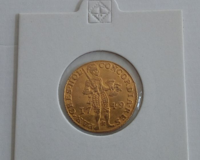 Holland – Dutch ducat 1749 – gold