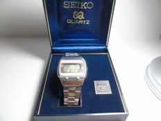Seiko A029-5010 Digital LCD men's wristwatch – James Bond model – full set