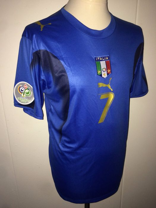Alessandro Del Piero / Italy - World Cup 2006 final shirt.