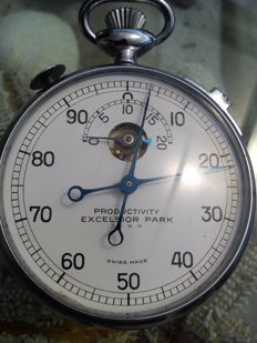 Excelsior Park Productivity Sinn SWISS stopwatch
