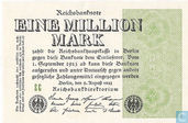 Allemagne 1 Million Mark 1923 (P102b - Ros.101b)