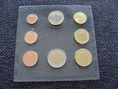 Belgium - Year collection 1 Cent up to and including 2 Euro 2000