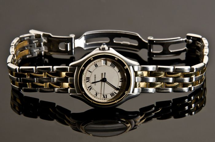 Cartier Cougar – 187906 – Women's wristwatch – 1990-1999