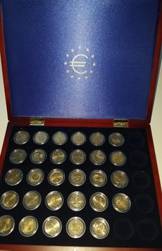Europe - 2 Euro in box (29 coins)