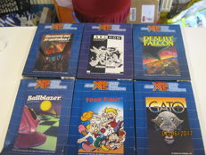6 Atari XE Games ,4 are factory sealed other 2 are boxed and complete.